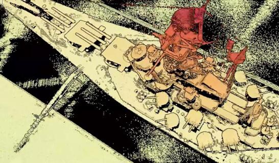 Digitaler Zwilling des Schlachtschiffes USS Alabama